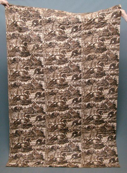 7: 19th c. Whole Cloth Quilt