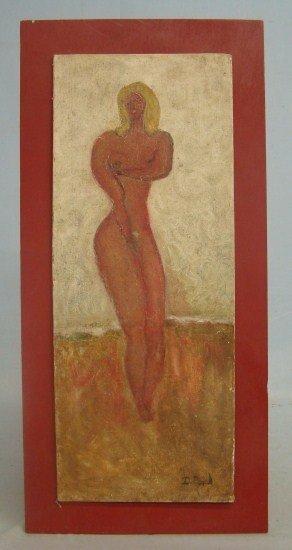 149: Folk Art Nude Painting