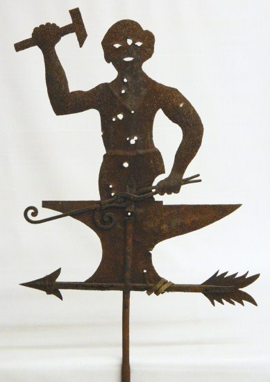 4: Blacksmith Weathervane