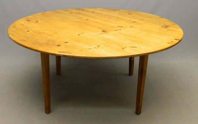 5: Pine Dining Table