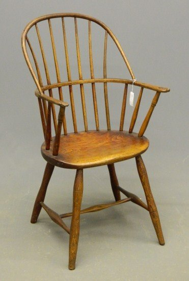 7: 19th c. Windsor Armchair