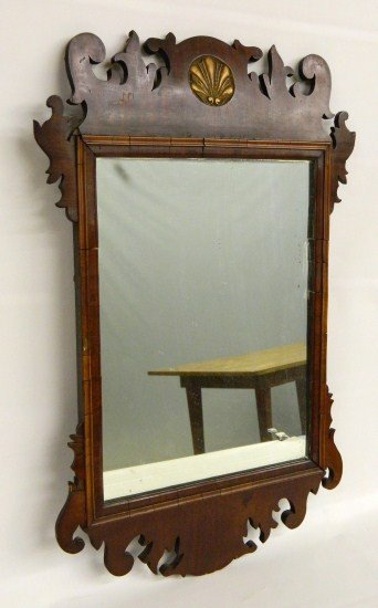 8: 18th c. Chippendale Mirror