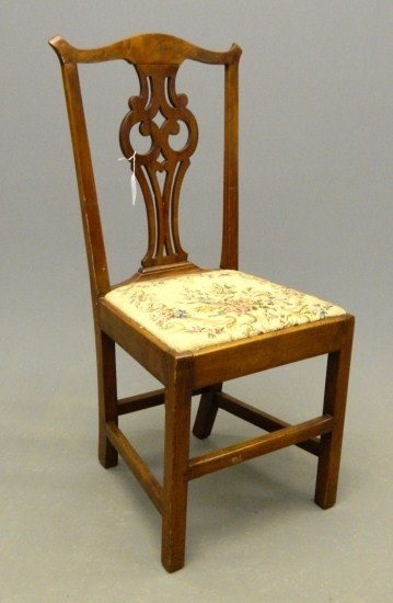 14: 18th c. Chippendale Side Chair