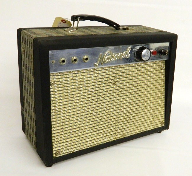 1: 1960's National Amplifier