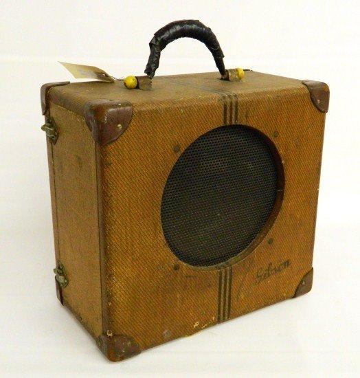 3: First Model Gibson Amplifier
