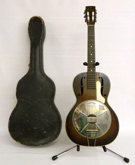 10: National Estralita Resonator Guitar