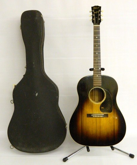 23: Gibson J 45 Acoustic Guitar