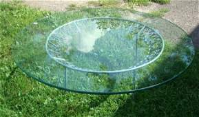 533 Glass Top Table