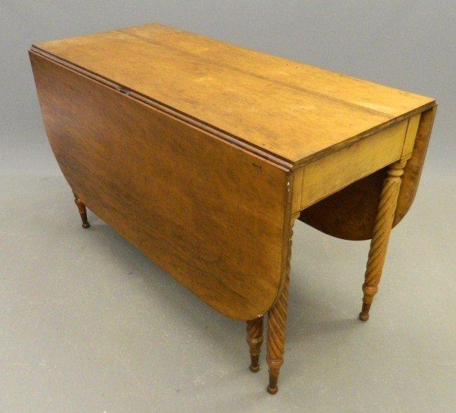8: 19th c. Sheraton Dropleaf Table