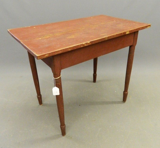 17: 19th c. Work Table