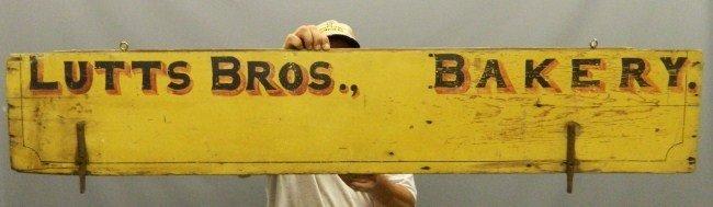 22: Wagon Side Trade Sign