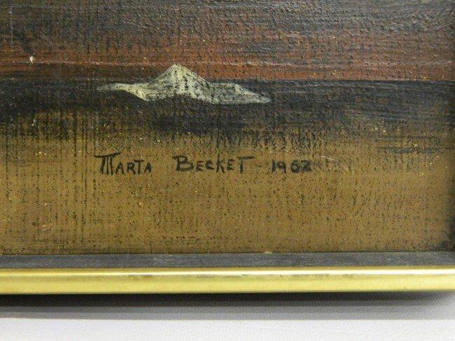 405: Painting Marta Becket - 2