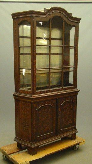 7: Dutch Marquetry Cabinet