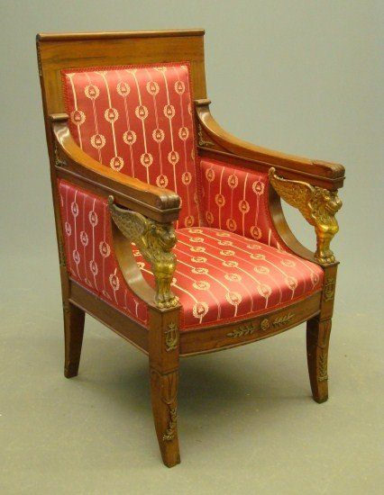 18: French Bergere Chair