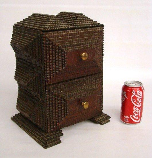 19: Tramp Art Box