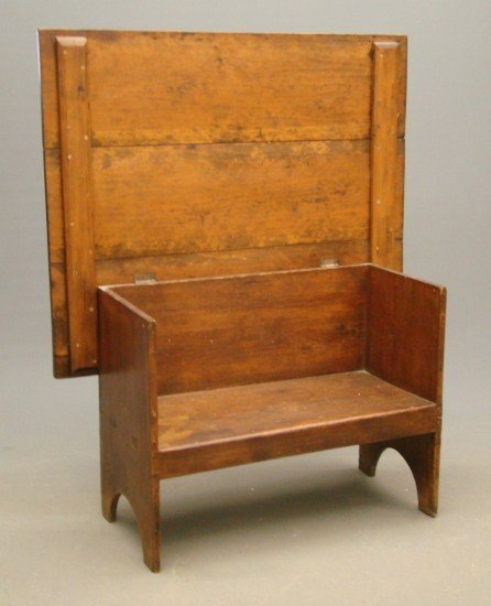 10: 19th c. Chair Table
