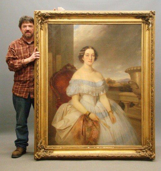 2: 19th c. Portrait Woman