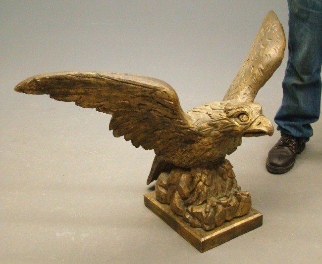 23: Carved Pilot House Eagle