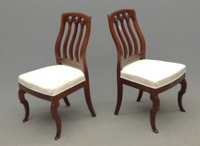 Pair 19th C. Victorian Chairs