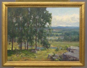 """Painting Signed """"Charles Curtis Allen"""""""