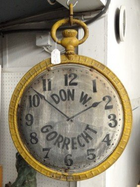 Clock Trade Sign