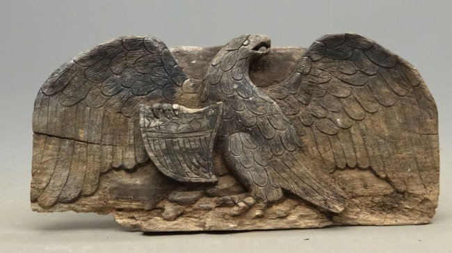 59: Carved Eagle