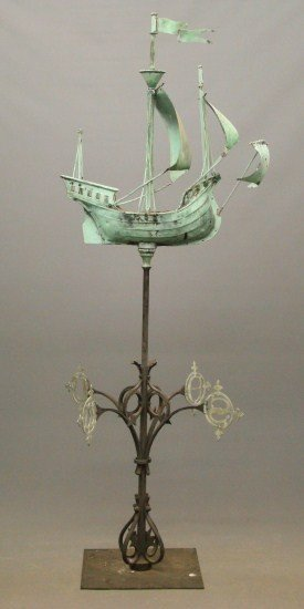 61: Ship Weathervane