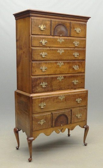 103A: 18th c. New Hampshire Highboy