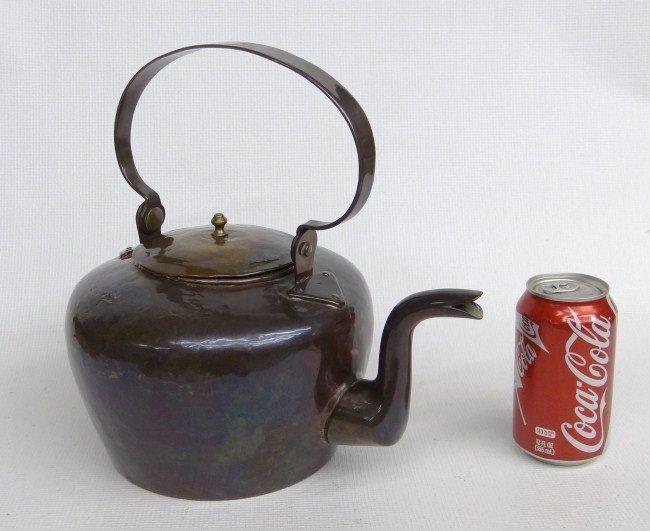 10: 18th c. Benjamin Harbeson Teapot