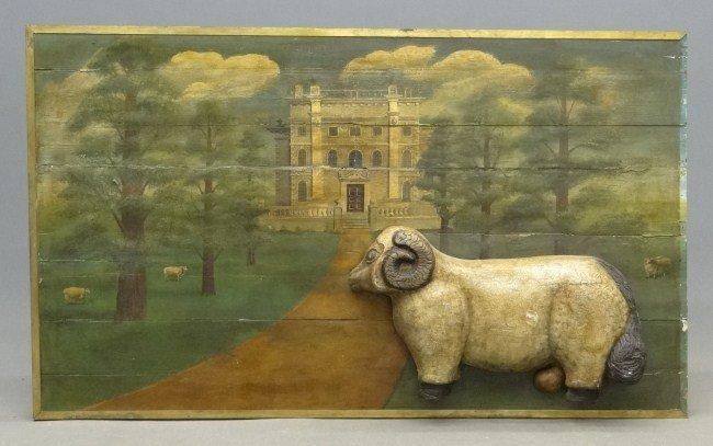 54: English Manor Painting