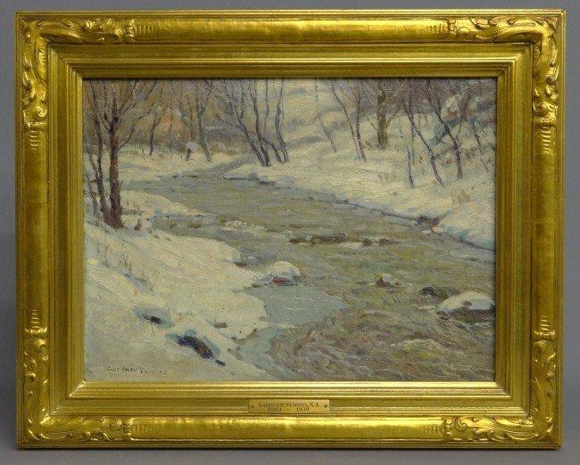 56: Painting Signed Gardner Symons