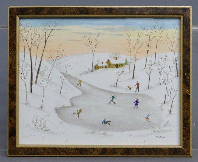 57: Evelyn Dubiel Watercolor