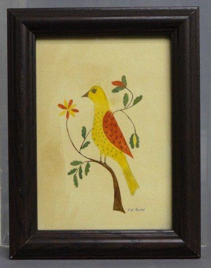 58: Evelyn Dubiel Watercolor