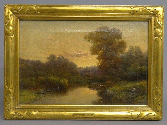 59: 19th c. Painting Kruseman Van Elten