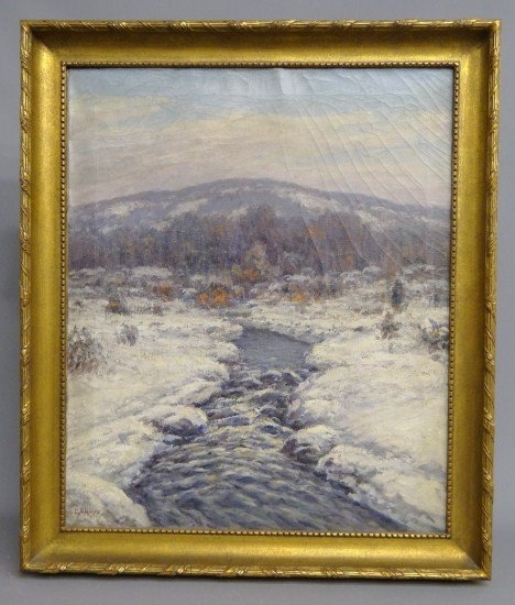 62: Painting Signed GA Hays