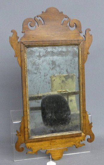 76: 18th c. Chippendale Mirror
