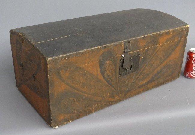 78: 19th c. Painted Box