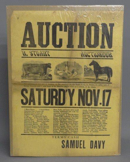 80: Auction Broadside