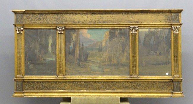 17: Triptych Painting Albert Herter