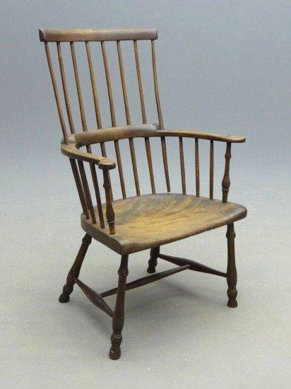 20: 19th c. English Windsor Chair