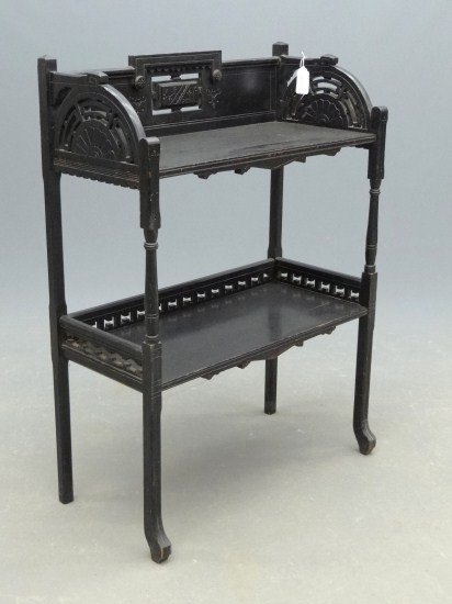 134: 19th c. Victorian Book Stand