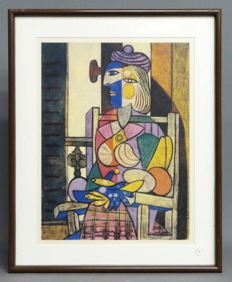 141: Picasso Print