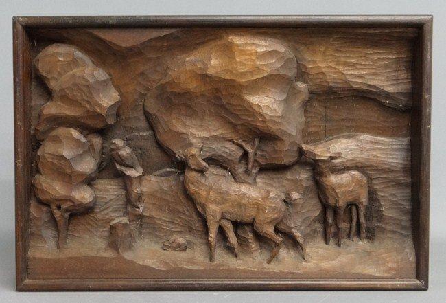 175: Hand Carved Sculpture