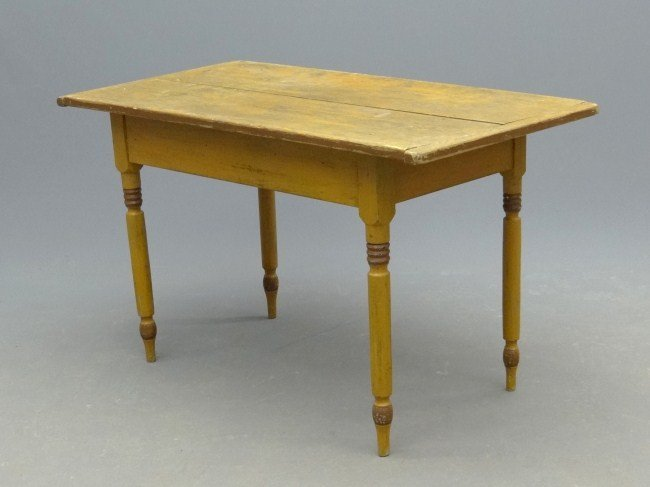 186: 19th c. Side Table