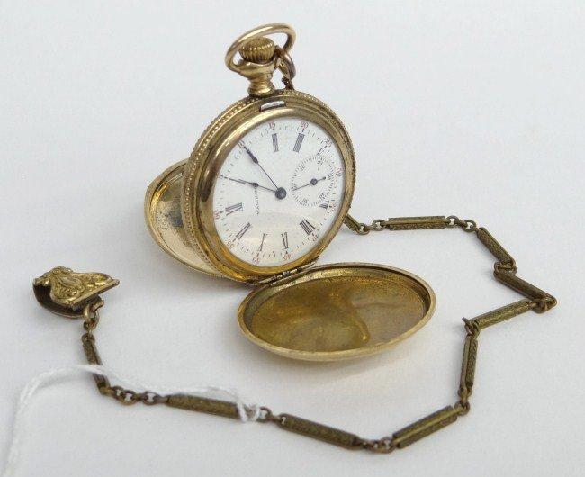 452: 14 Karat Gold Watch