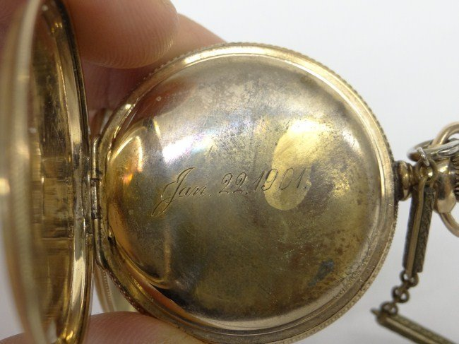452: 14 Karat Gold Watch - 6