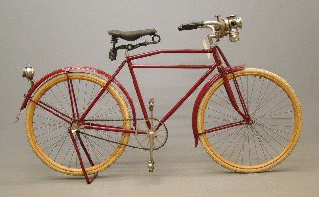 1: Indian Pneumatic Safety Bicycle