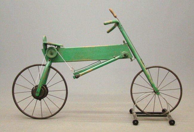 4: 19th c. Mergomobile Bicycle