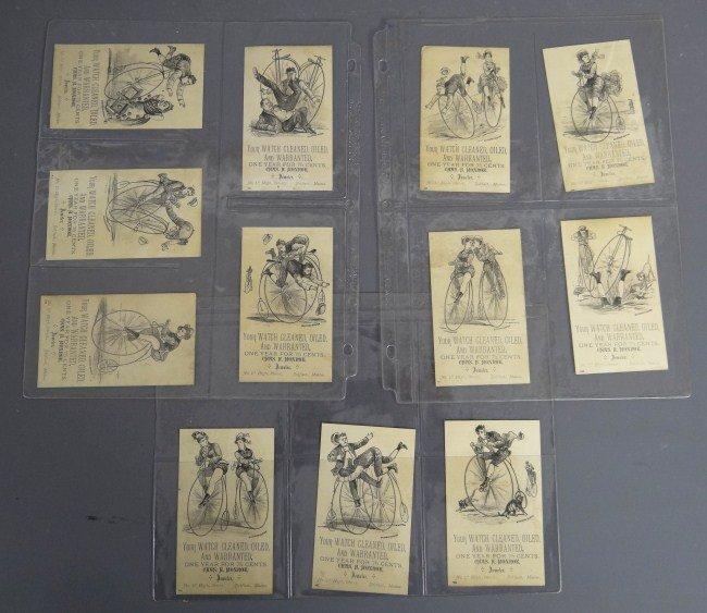 10A: Set (12) Trade Cards