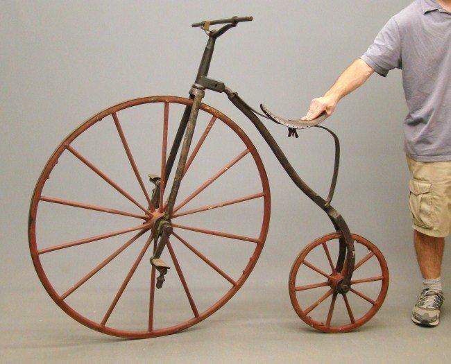 11: Boneshaker Highwheel Bicycle